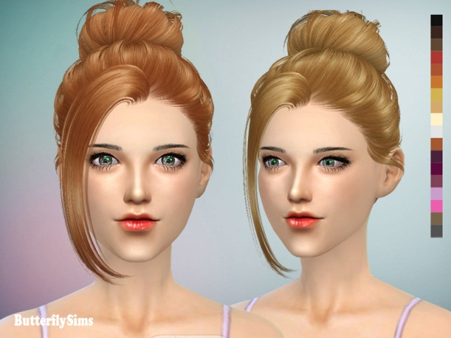 Hairstyle 060_2 by Butterflysims