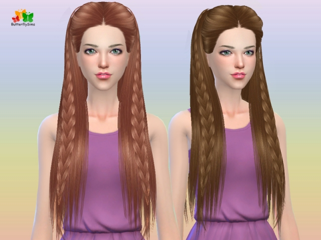 Hairstyle 163-no hat by Butterflysims
