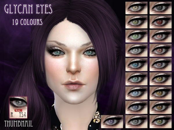 Glycan Eyes by RemusSirion