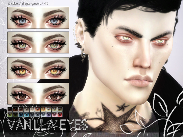 Vanilla Eyes N79 by Pralinesims