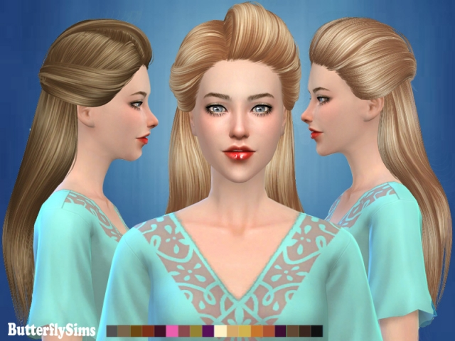 Hairstyle 179-No hat by Butterflysims