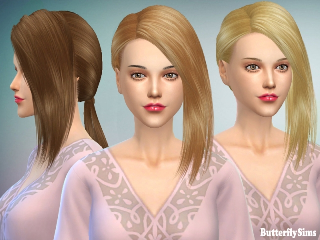 Hairstyle 156-Nohat by Butterflysims