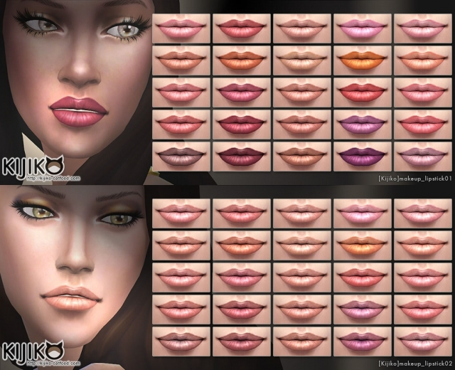 25 Colors Lipstick by Kijiko