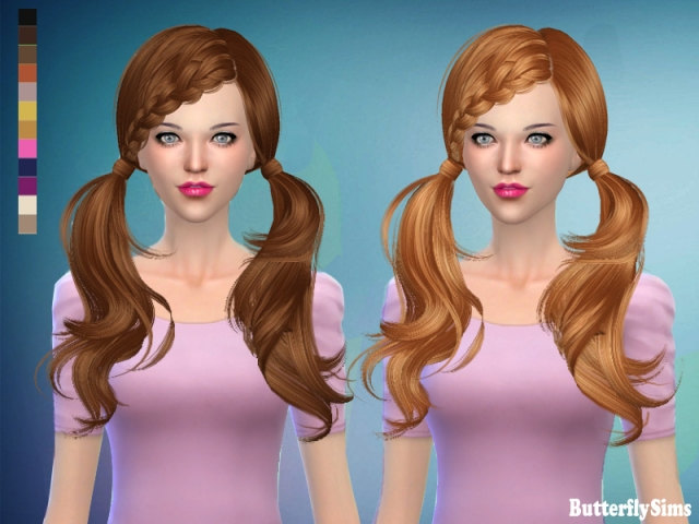 Hairstyle 052-No hat by Butterflysims