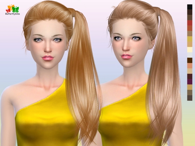 Hairstyle 164 by Butterflysims