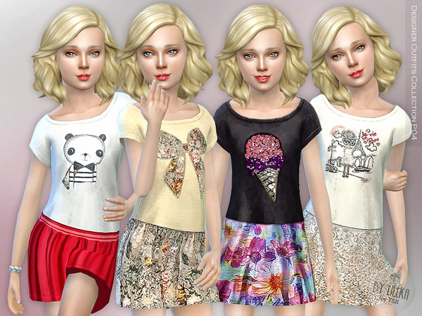 Designer Outfits Collection P04 by lillka