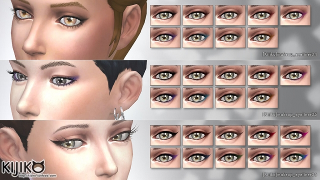 Makeup_Eyeliner-pack by Kijiko