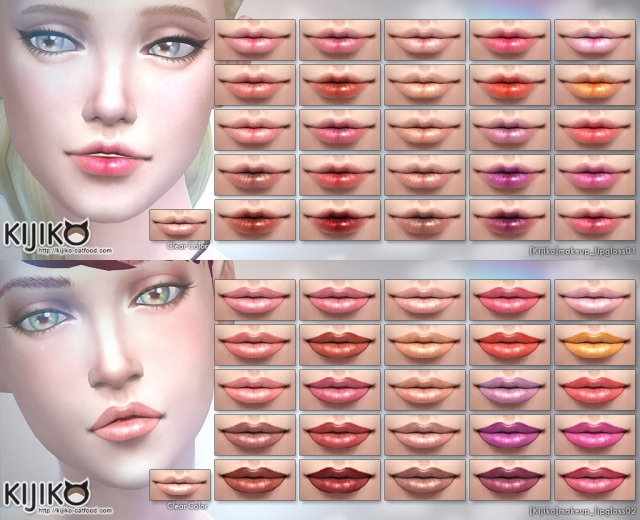 25+1 Colors Lip Gloss by Kijiko
