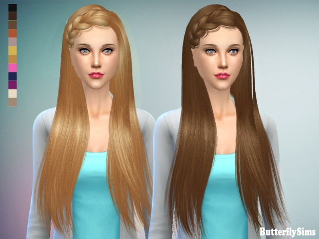 Hairstyle 155 by Butterflysims