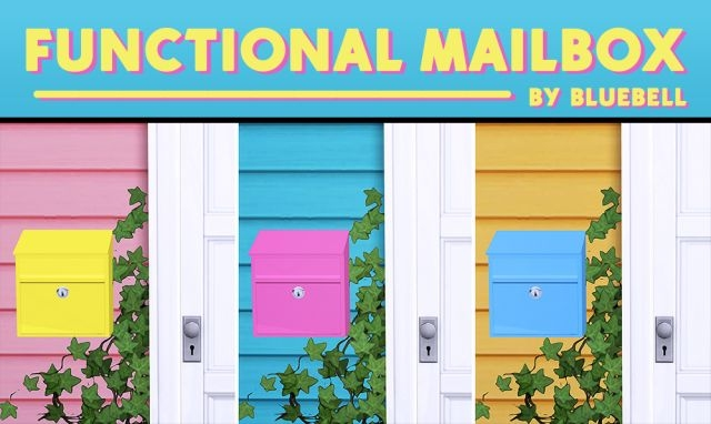 Functional Mailbox in 28 Colors by Bluebell
