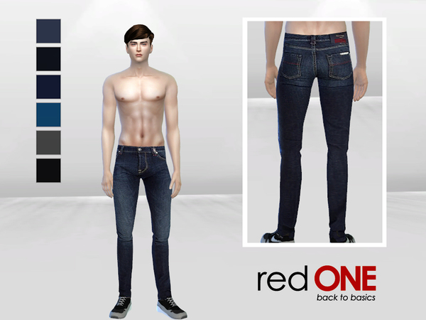 SnakeHips Denim Jeans by McLayneSims