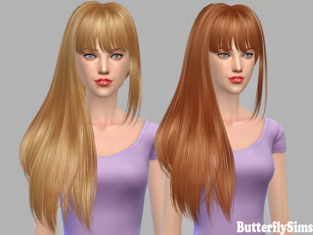 Hairstyle po154 by Butterflysims