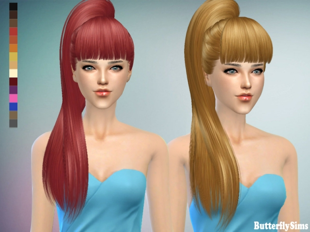 Hairstyle 138-No hat by Butterflysims