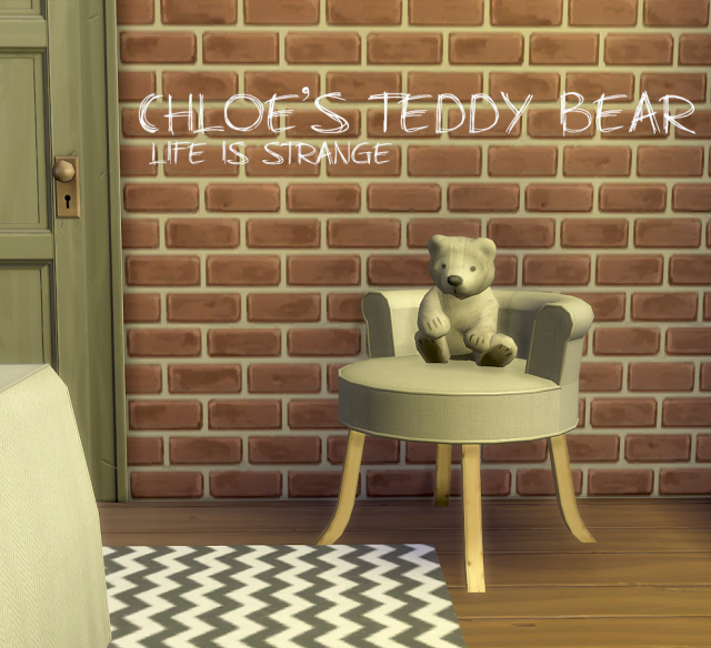 Chloes Teddy Bear by BoredSimblr