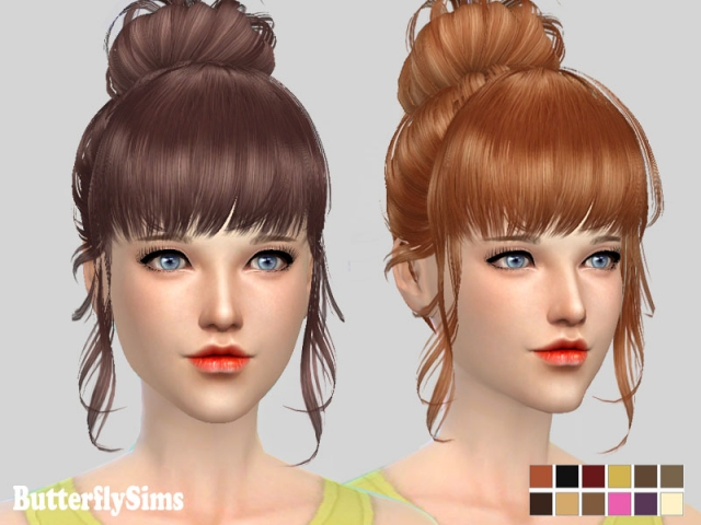 Hairstyle 153 by Butterflysims