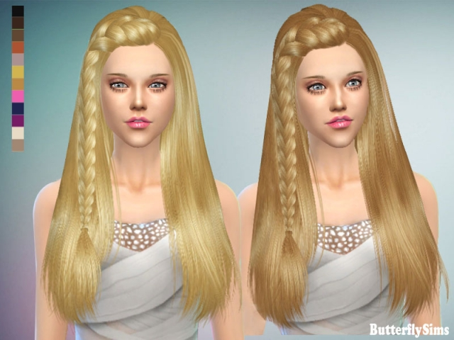 Hairstyle 152 by Butterflysims