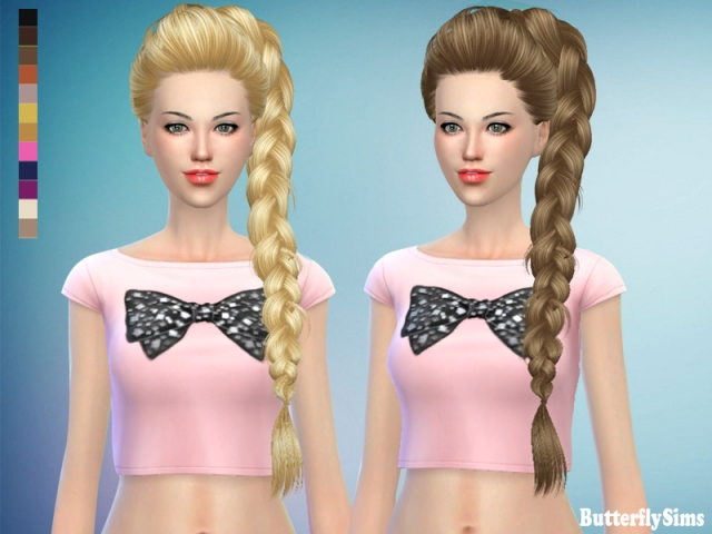 Hairstyle 174-No hat by Butterflysims