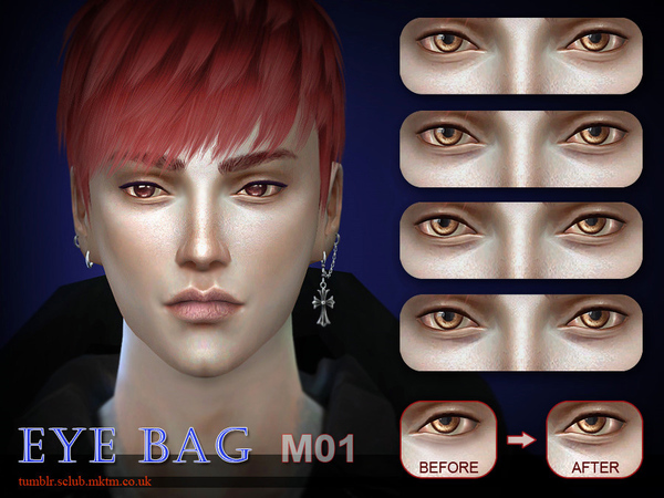S-Club LL thesims4 Eyebag M01