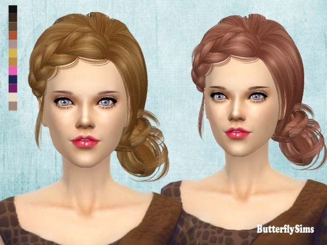 Hairstyle afo092-No hat by Butterflysims