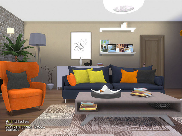 Walken Living Room by ArtVitalex