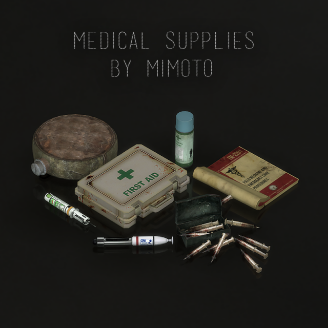 Medical Supplies (Медикаменты) by Mimoto