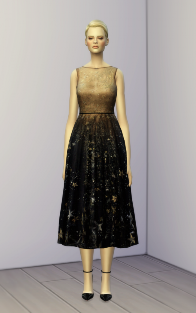 S4 Dress Valentino 2 Pre FW 2015 (4 color) by Rusty Nail