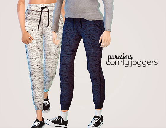 comfy joggers by puresims