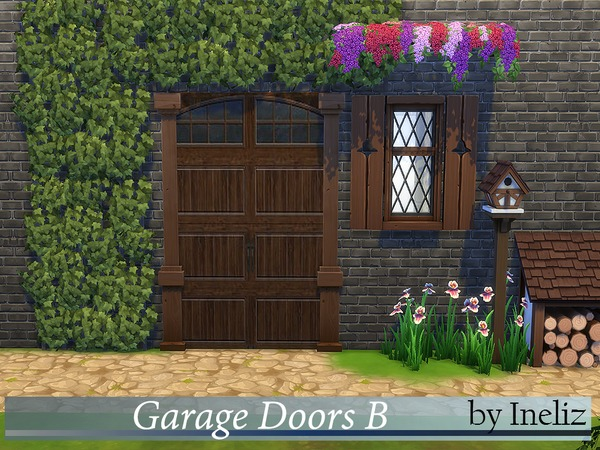 Garage Doors B by Ineliz