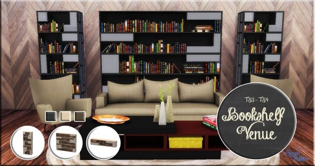 TS3 Venue Bookshelf Conversions by VictorrMiguell