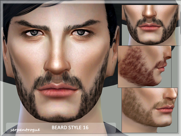 Beard Style 16 by Serpentrogue