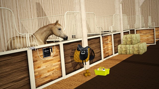 Custom Stall set 07 by Raymond Equestrian Centre