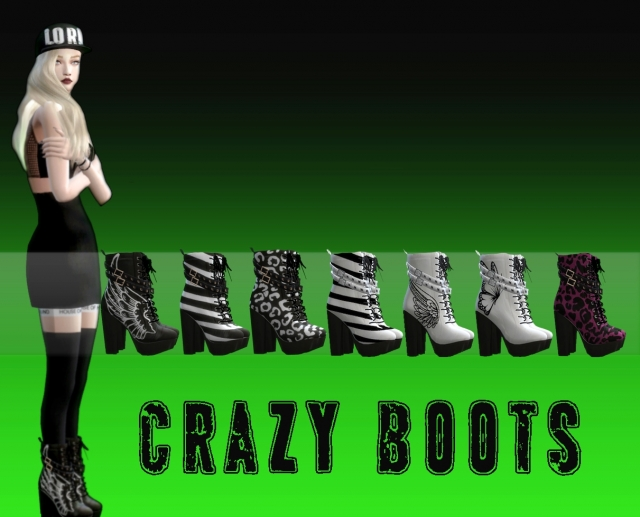 Crazy Boots by Dreacia