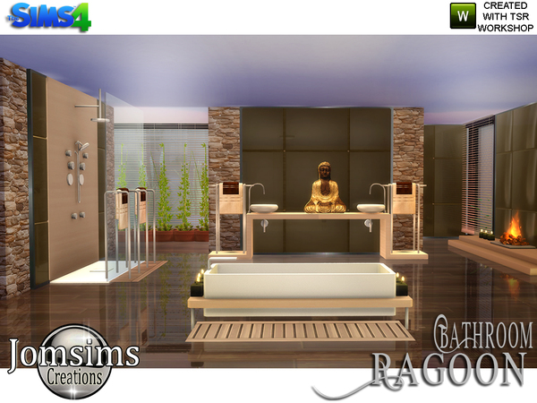 Ragoon Zen Bathroom by jomsims