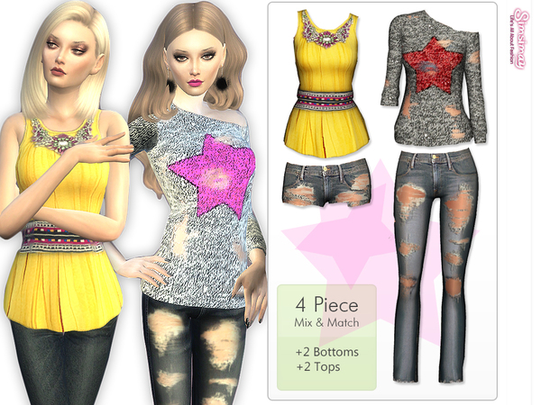 Mix & Match Seasons Set by Simsimay