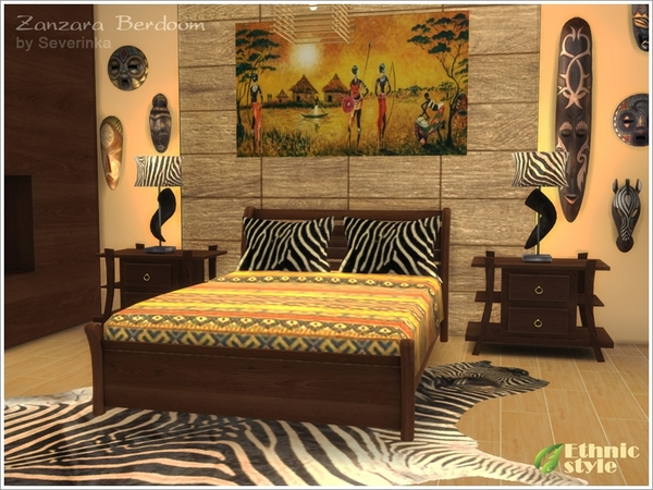 Zanzara Bedroom by Severinka