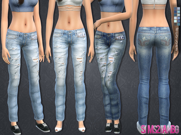 149 - 3d Jeans by sims2fanbg