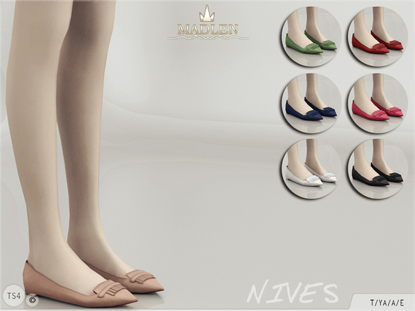 Madlen Nives Flats by MJ95
