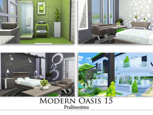 Modern Oasis 15 by Pralinesims