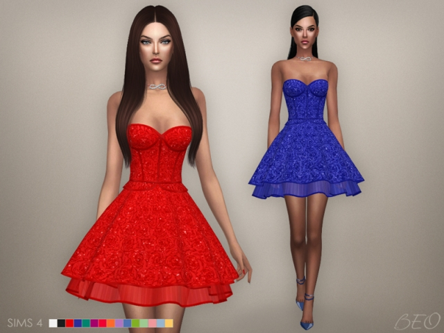 Cristina collection - Baby-doll dress (S4) by BEO