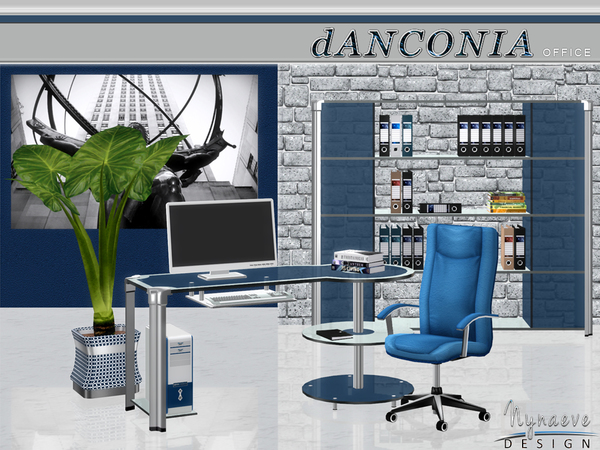 dAnconia Office by NynaeveDesign
