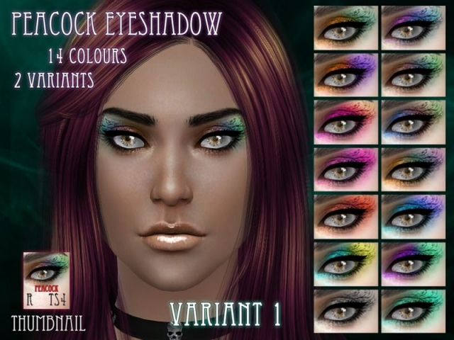 Peacock Eyeshadow by RemusSirion