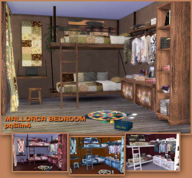 Mallorca Bedroom Set by pqsim4