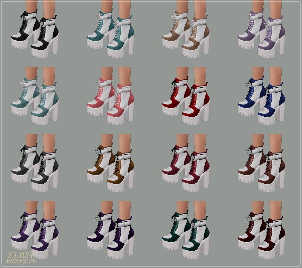 Chunky Sneakers Heels by marigold