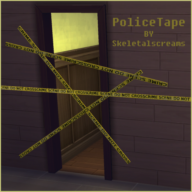 PoliceTape by SkeletalScreams