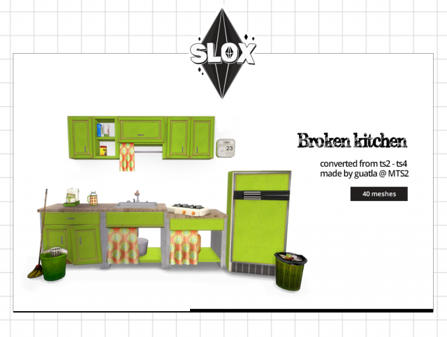 Guatla's Broken kitchen Conversion TS2 - TS4 by Slox