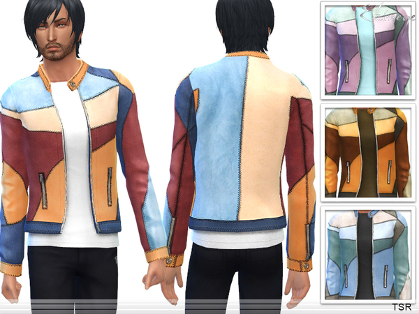 Patchwork Jacket by ekinege