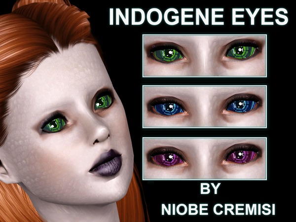 Indogene Eyes by niobe cremsi