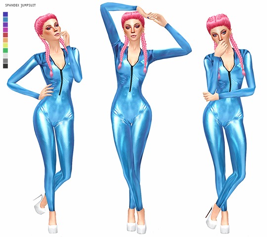 SPANDEX JUMPSUIT by its-leeloo