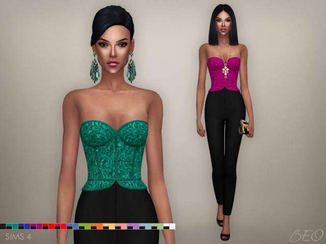 CRISTINA COLLECTION - JUMPSUIT by BEO