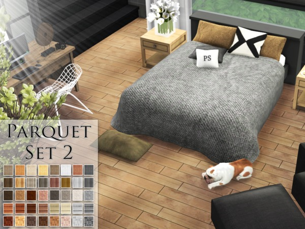 Parquet Set 2 by Pralinesims
